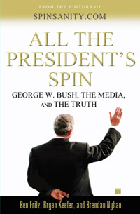 All the President's Spin book cover